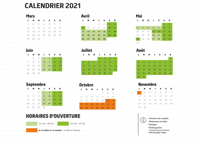Calendrier 2021 scolaire site web png
